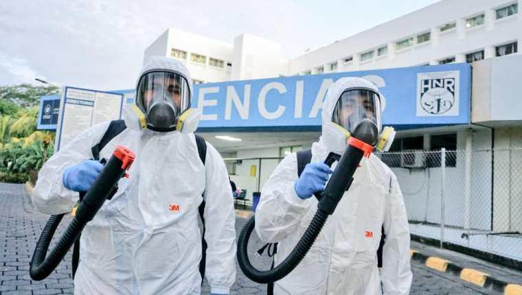 Autoridades de El Salvador detectaron la variante delta de coronavirus. (Foto Prensa Libre: Ministerio de Salud de El Salvador)