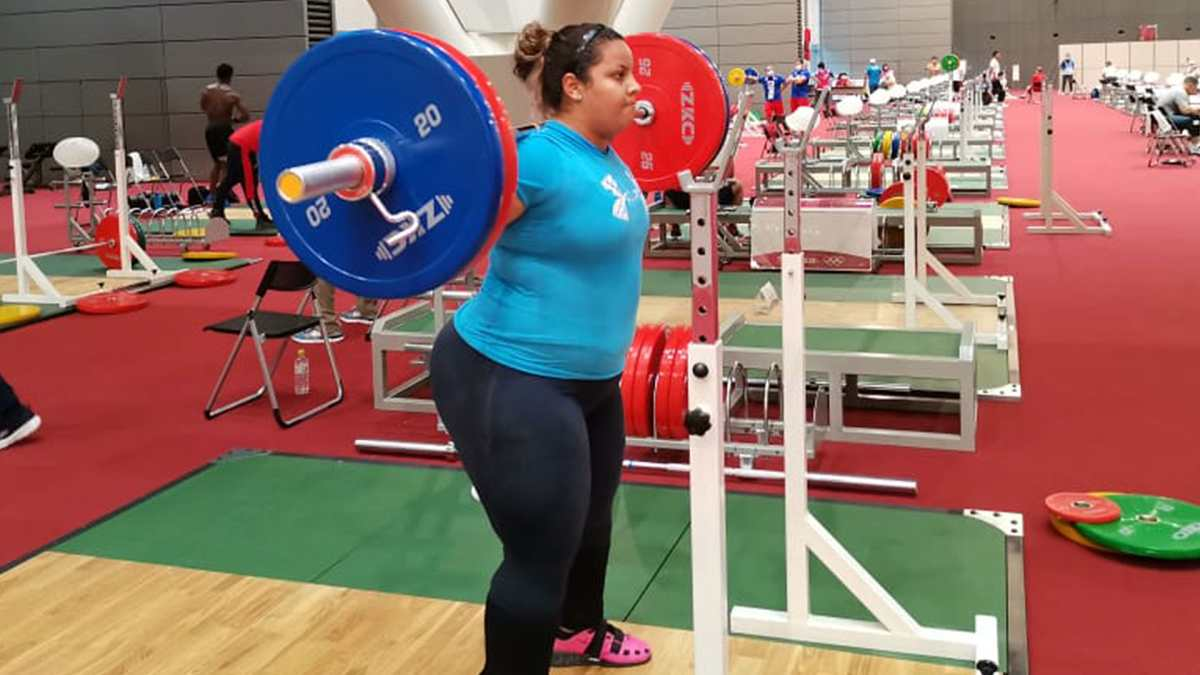 La pesista Scarleth Ucelo hará su debut hoy en los Juegos Olímpicos de Tokio 2020