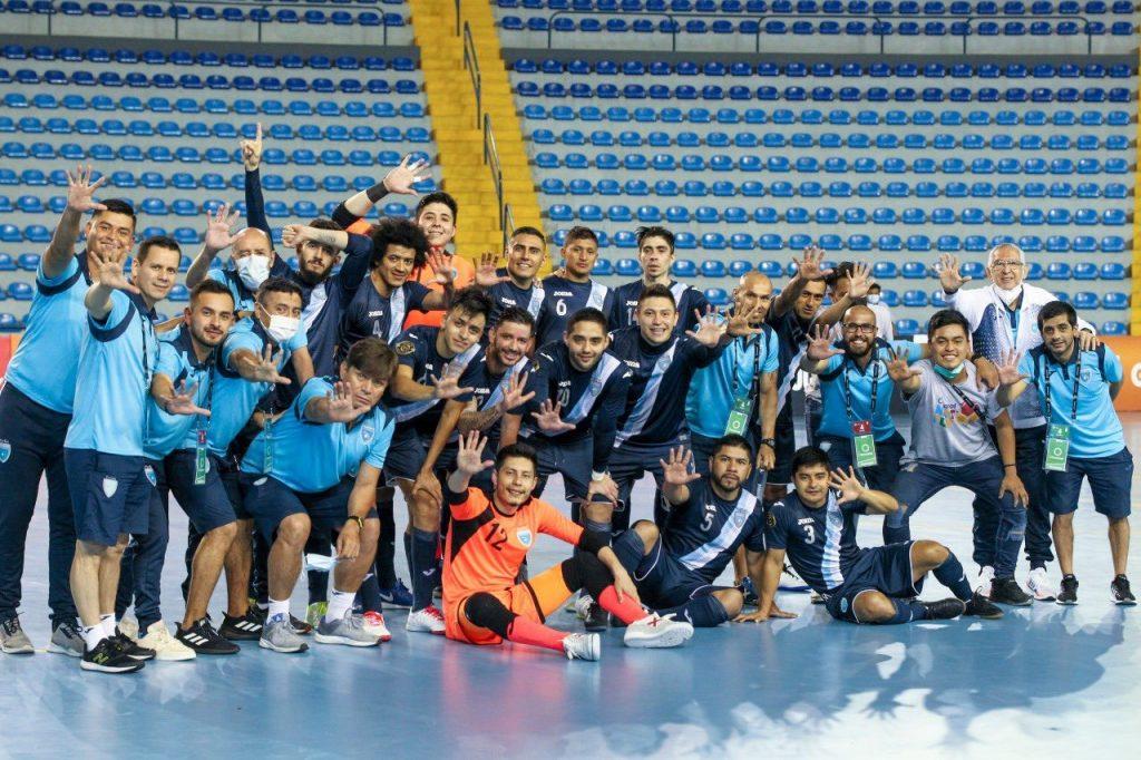 Cada vez más cerca del Mundial de Futsal de Lituania; Guatemala viajará el 24 de agosto