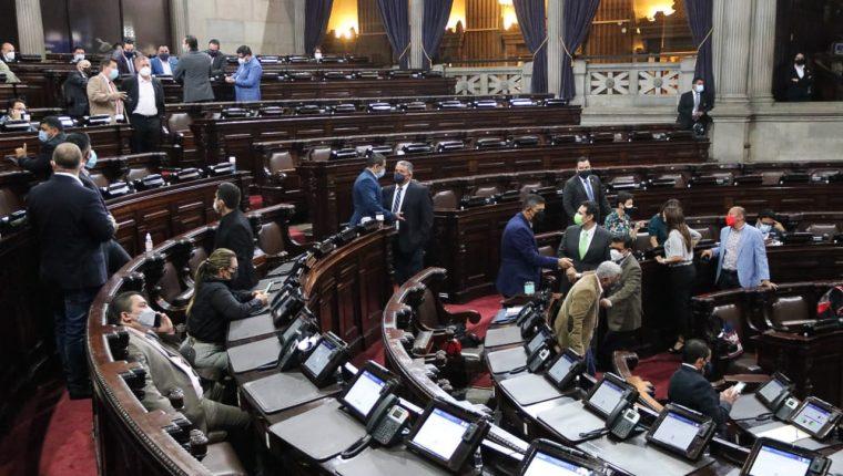 La alianza oficialista en el Congreso fracasó la semana pasada en sus intentos por ratificar el estado de Calamidad impulsado por la Presidencia. (Foto Prensa Libre: Congreso)