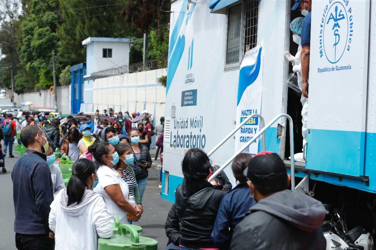 Guatemala sobrepasa los 450 mil casos acumulados de coronavirus