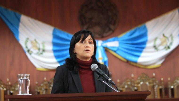 Congreso frena otra vez juramentación de magistrada Gloria Porras