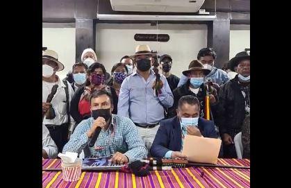 Autoridades indígenas les dan cinco días de plazo a Giammattei y Porras para que renuncien