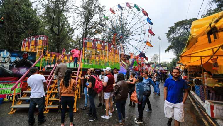 La Feria de Jocotenango queda suspendida por segundo año consecutivo. (Foto Prensa Libre: Hemeroteca PL)