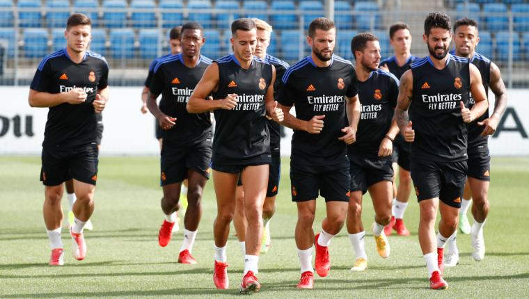 Los jugadores del Real Madrid regresan a los entrenamientos. Foto Prensa Libre (Twitter; Real Madrid)