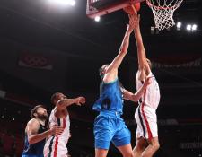 Francia vs Estados Unidos será la final del básquetbol masculino de Tokio 2020. Foto Prensa Libre (NBA)
