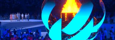 La llama olímpica volverá a encenderse en París 2024. Foto Prensa Libre (Twitter Juegos Olímpicos)