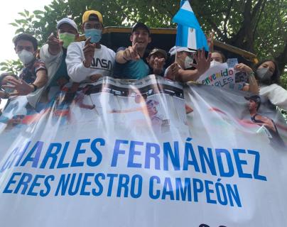 Charles Fernández ya está en Guatemala después de su participación en los Juegos Olímpicos de Tokio 2020