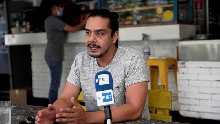 """Jayro Bustamante, director de la película """"La Llorona"""". (Foto Prensa Libre: EFE)"""