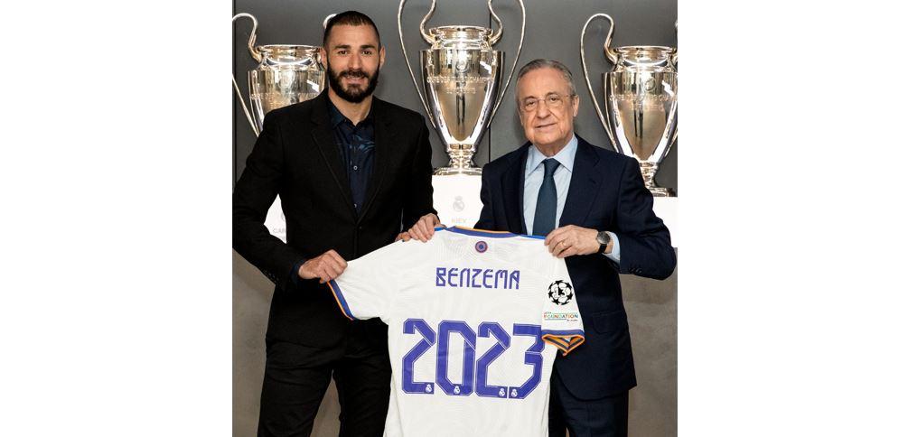 Benzema renueva para seguir haciendo historia en el Real Madrid