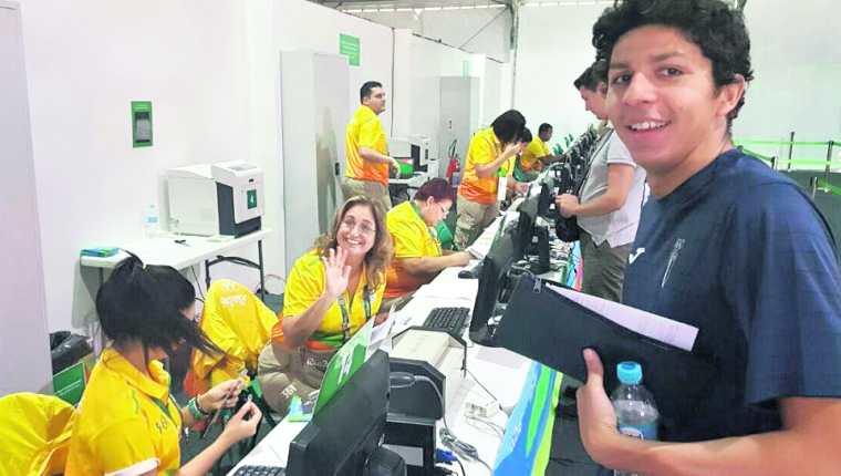 Luis Carlos Martínez tuvo su primera  aventura olímpica en las justas de Río de Janeiro 2016. (Foto Hemeroteca PL).