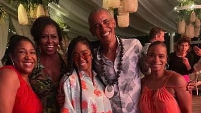 Fotos filtradas muestran la celebración del 60 cumpleaños de Obama