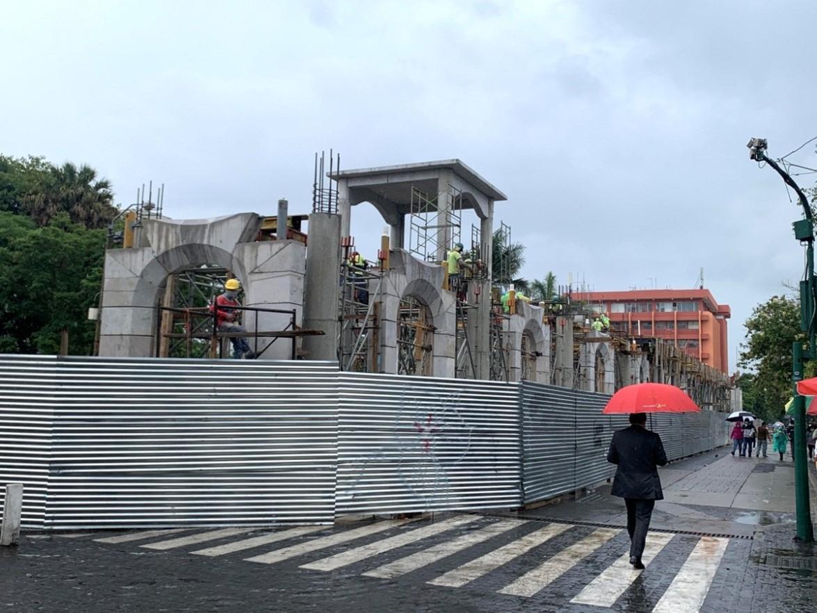 Por atentar contra el Centro Histórico: denuncian ante el MP la construcción en el Parque Centenario
