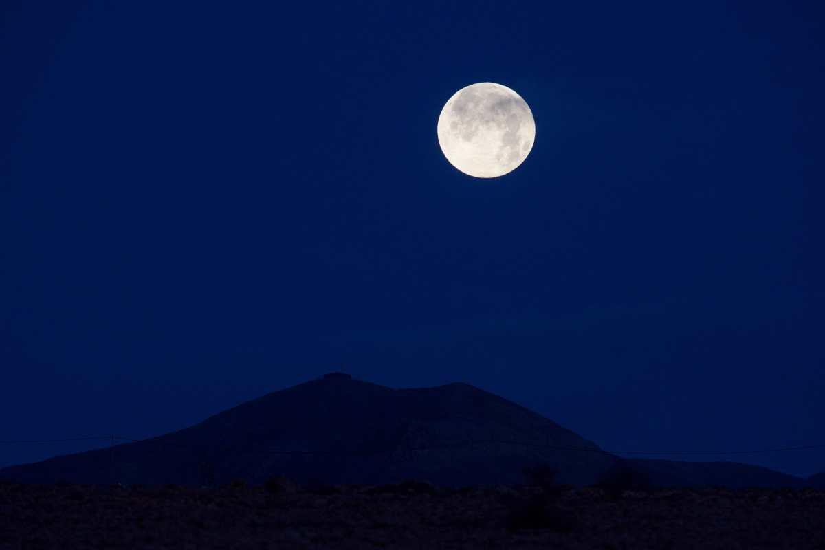 Qué es la Luna Azul de agosto y qué día se podrá ver