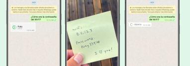 WhatsApp ya permite enviar fotos y videos que sólo se pueden ver una vez. (Foto Prensa Libre: WhatsApp)