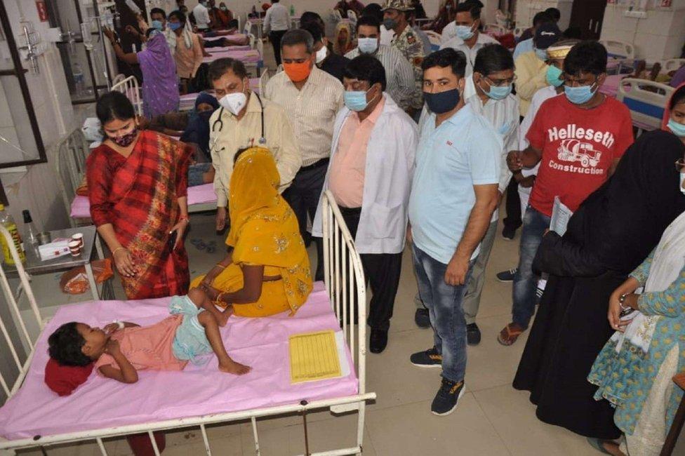 La misteriosa fiebre que está matando niños en India