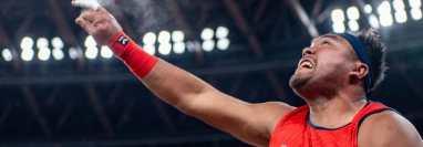 El atleta paraolímpico de Malasia Muhammad Ziyad Zolkefli había ganado la competencia de lanzamiento de peso.