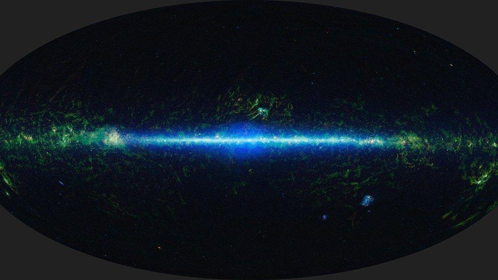 """""""El accidente"""": el extraño objeto descubierto en nuestra galaxia que desconcierta a los astrónomos y astrofísicos"""