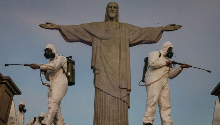 Brasil llegó a tener una tasa de contagios que era 7 veces la de India. Getty Images