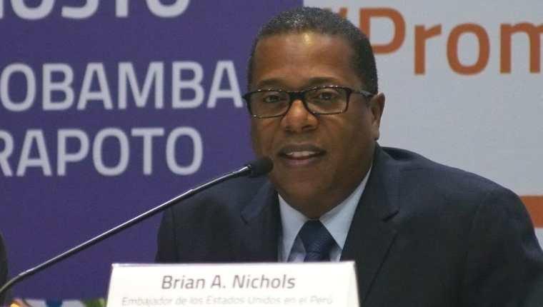 Brian Nichols desempeñó en el pasado varios cargos diplomáticos de EE.UU. en América Latina.
