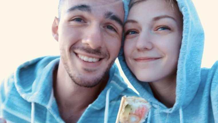 Brian Laundrie y Gabby Petito.