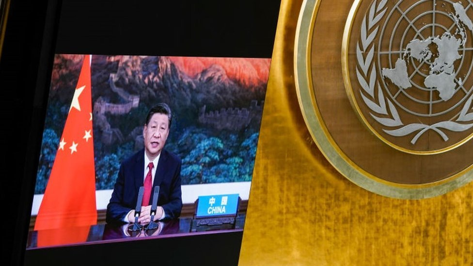 """El """"importante"""" anuncio del presidente de China en la ONU con posibles implicaciones para todo el planeta"""