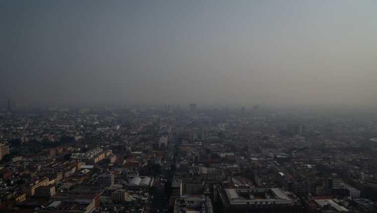 La Ciudad de México es conocida por la mala calidad del aire.