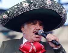 Vicente Fernández durante una presentación. (Foto Prensa Libre: Hemeroteca PL)