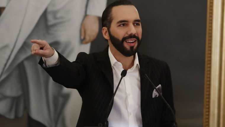 Nayib Bukele, presidente de El Salvador. (Foto Prensa Libre: Hemeroteca PL)