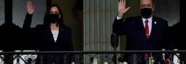 En su visita a Guatemala en julio último, la vicepresidenta de EE. UU., Kamala Harris, dejó claras las intenciones del gobierno de Biden de erradicar la migración desde sus raíces. (Foto: Hemeroteca PL)