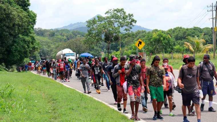 La OIM busca advertir sobre los riesgos de migrar hacia EE. UU. (Foto Prensa Libre: EFE)