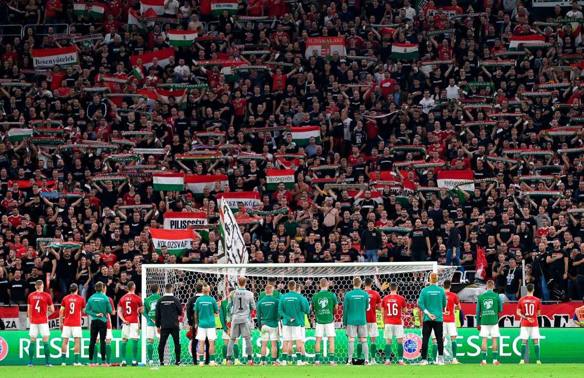 """Inglaterra pide a la Fifa """"tomar medidas enérgicas"""" contra los responsables de insultos racistas contra futbolistas ingleses en Hungría"""