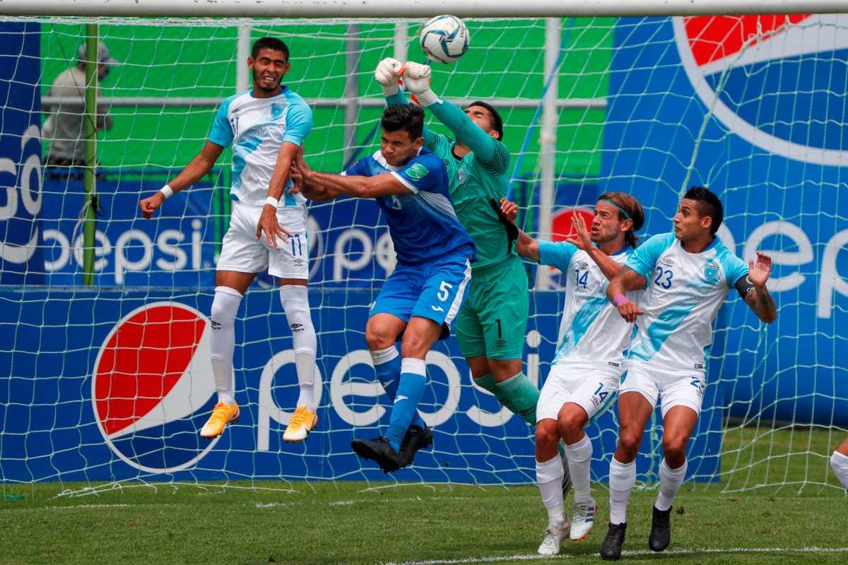 La Selección de Guatemala y Nicaragua empatan amistoso en el que falló el portero Braulio Linares y la visita erró dos penales