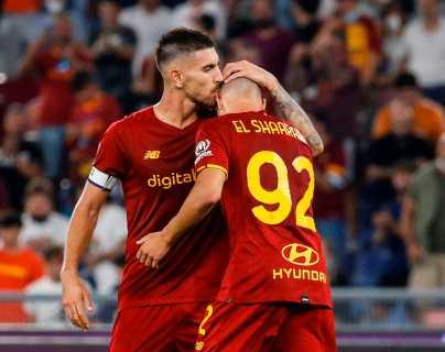 La Roma se pone líder de la Serie A en el partido 1,000 de Mourinho