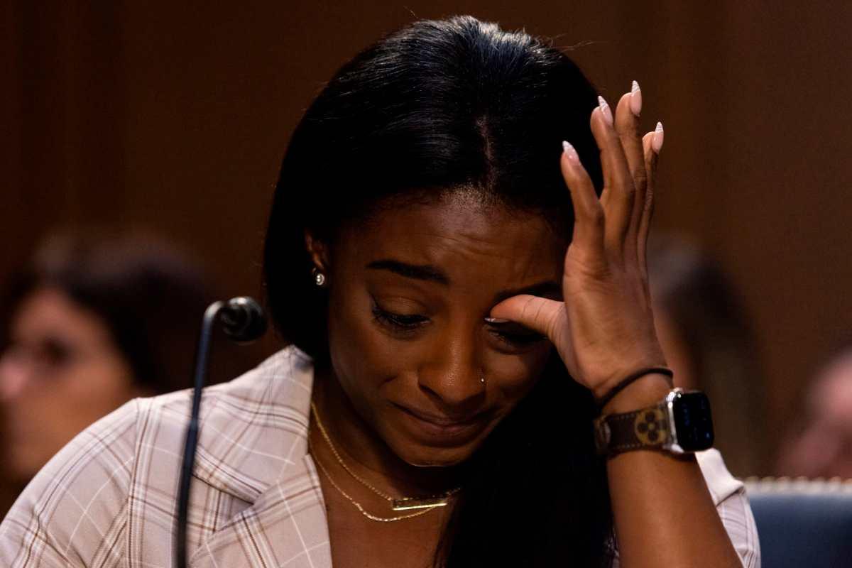 """Medallista olímpica Simone Biles, ante el Senado de EE.UU.: """"Hago responsable a Larry Nassar y a un sistema entero que permitió y perpetró estos abusos"""""""