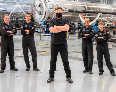 """""""Cuenten conmigo"""": la millonaria donación que Elon Musk hará a Inspiration4, primera misión espacial con tripulación de civiles"""