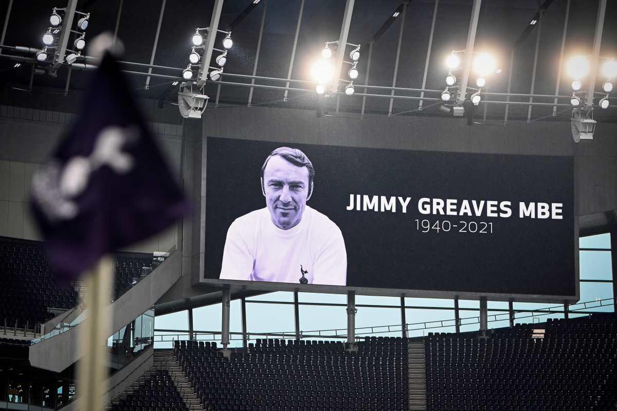 Muere Jimmy Greaves, exjugador del equipo inglés y del Tottenham