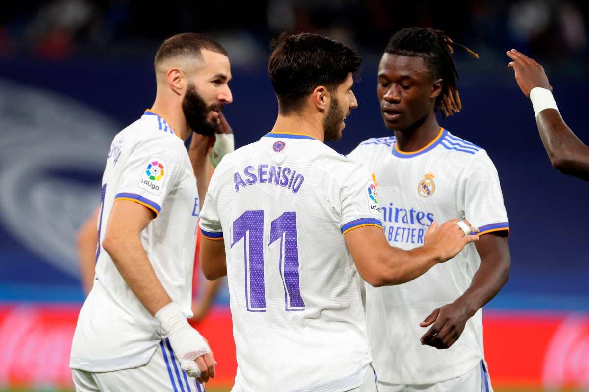 Exhibición de Asensio, recital de Benzema y gran debut como titular de Camavinga le sirven al Real Madrid para golear al Mallorca