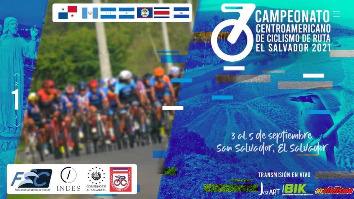 Selección Nacional de Ciclismo está en El Salvador para participar en el III Campeonato Centroamericano de Ruta
