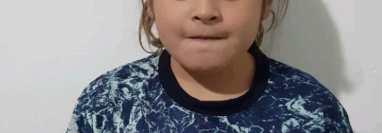 Ella es Felicitas Flores Mussi, la futbolista argentina de ocho años que ha fichado Nike por tres años. Foto Instagram  @felicitasflores100