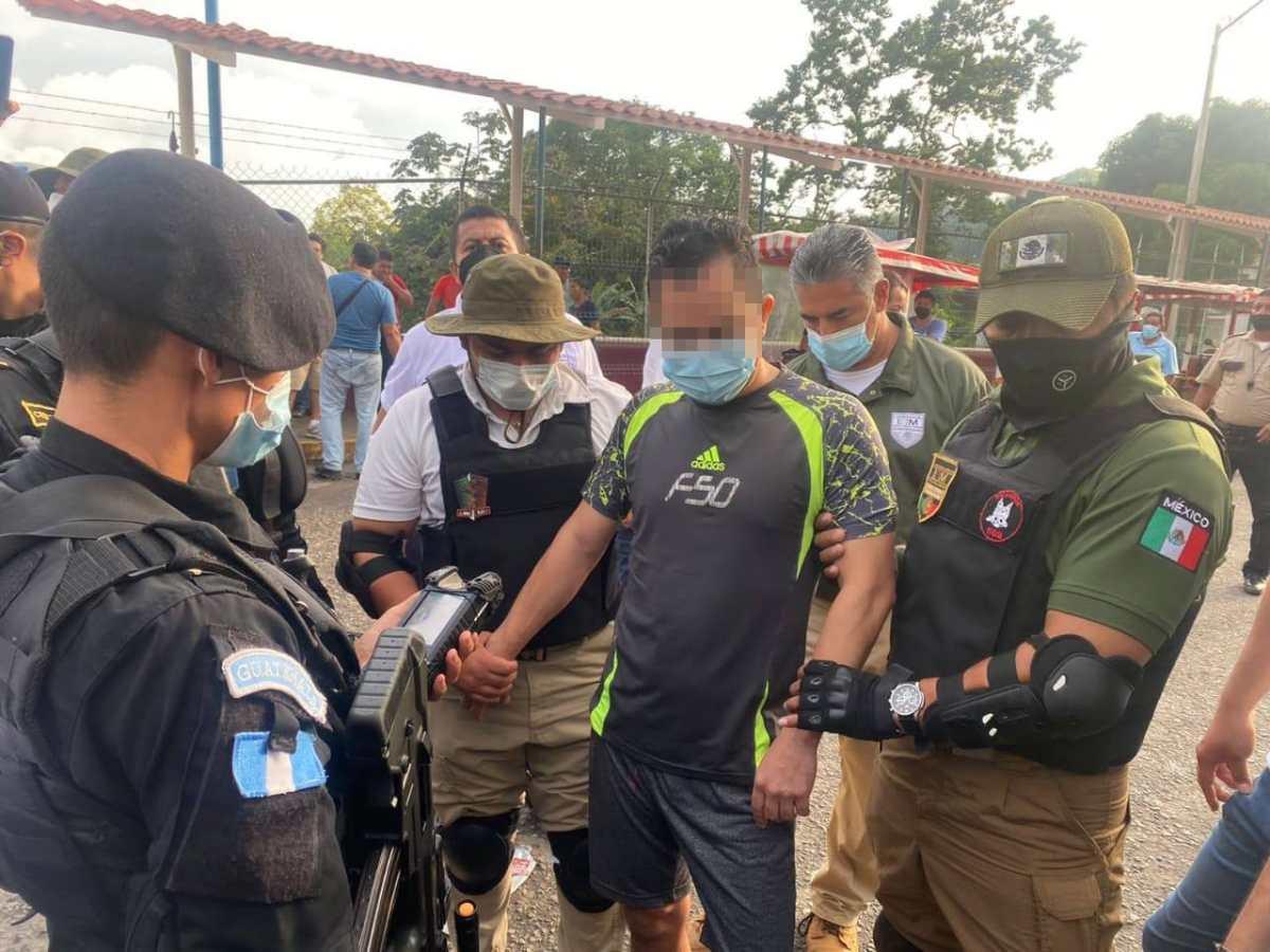 Capturan en Tapachula a guatemalteco requerido por EE. UU. por narcotráfico