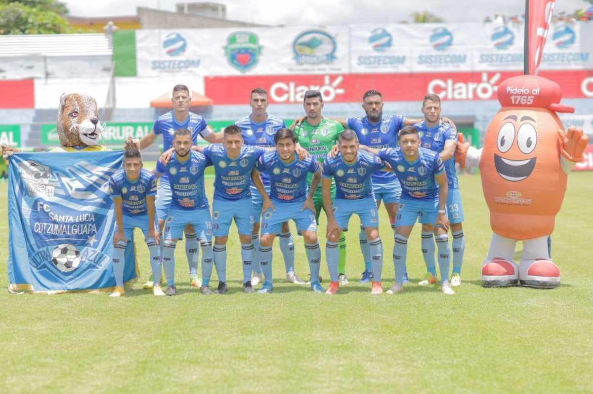 Santa Lucía le gana a Comunicaciones 2-0, mantiene invicto y se pone a tiro para luchar por el liderato ante Antigua