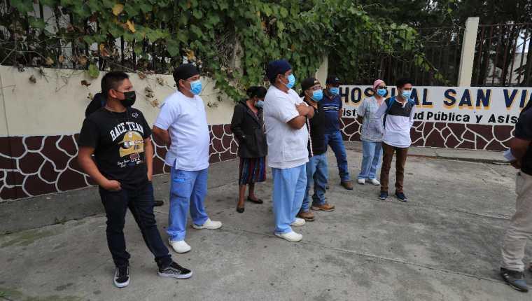 Salud exige una ampliación presupuestaria para la contratación de personal para atender la emergencia sanitaria a causa de la pandemia de coronavirus. (Foto Prensa Libre: Byron García)