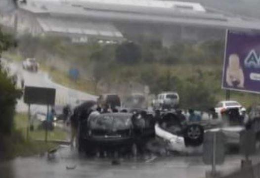 Bomberos reportan accidente de tránsito en la VAS y otros percances con saldo de heridos y un fallecido
