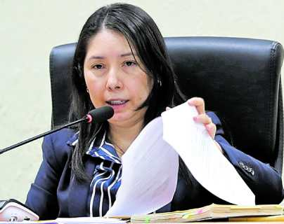 CSJ rechaza antejuicio contra jueza Erika Aifán promovido por Mynor Moto