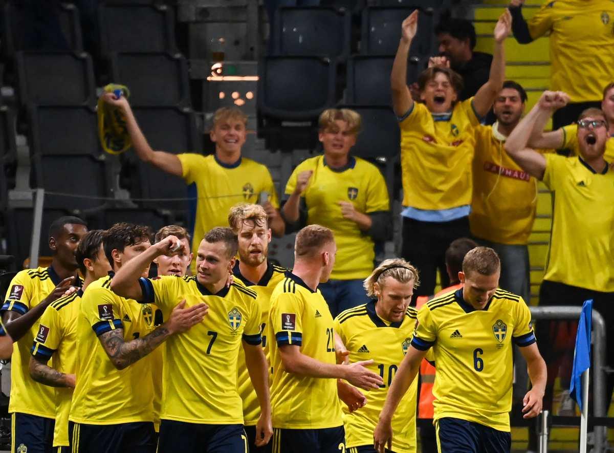 España pierde 2-1 en Suecia y se complica la clasificación al Mundial de Qatar 2022