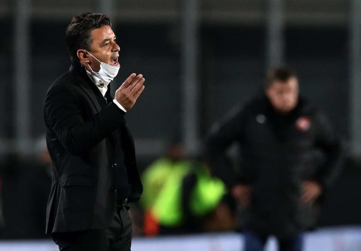 Gallardo evita hablar del Barcelona y se centra en cumplir contrato con River