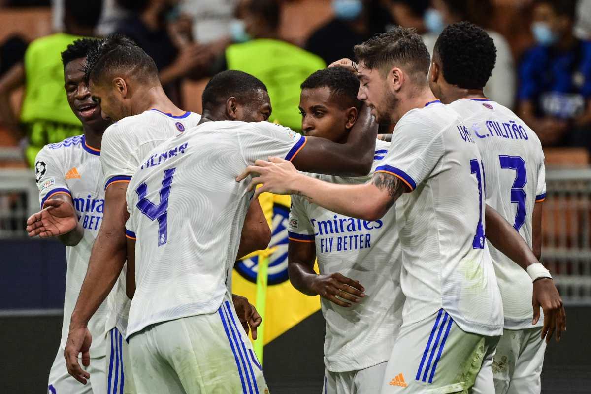 Courtois y Rodrygo lideran el triunfo del Real Madrid frente el Inter