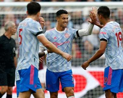 El Manchester gana con nuevo gol de Cristiano e iguala al líder Liverpool en la Premier League