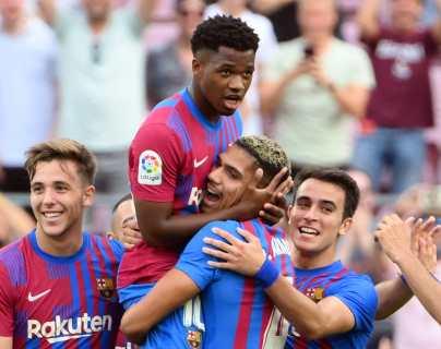 Ansu Fati regresa con gol ante el Levante tras casi un año sin jugar